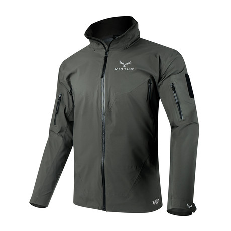 LEAF Proteus Outer Layer Jacket // Gray (S)