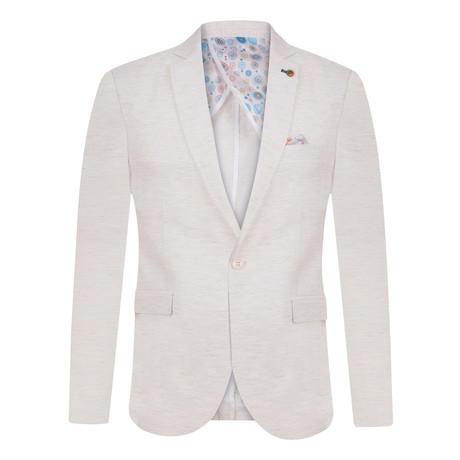 Rocco Blazer Jacket // Beige (S)