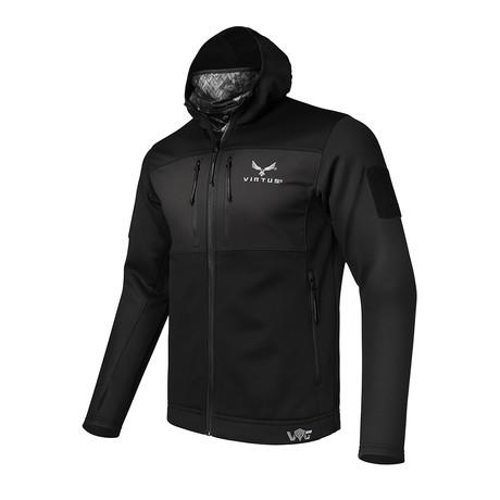 Helios Base Layer Jacket // Black + NYX (S)
