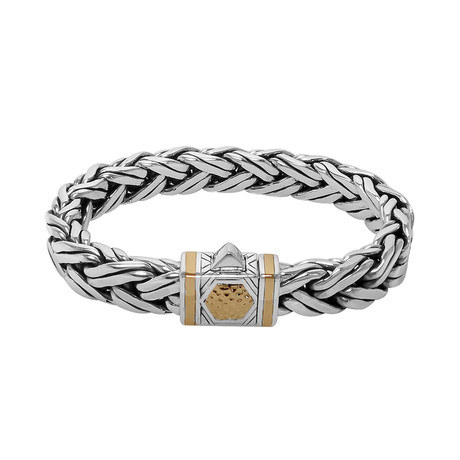Wheat Braid Bracelet // 11mm