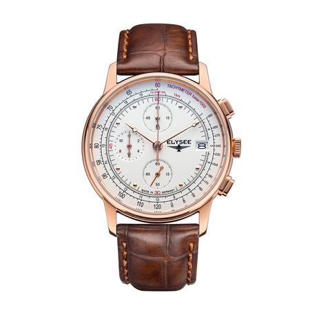 Elysee Heritage Chronograph Quartz // 11013