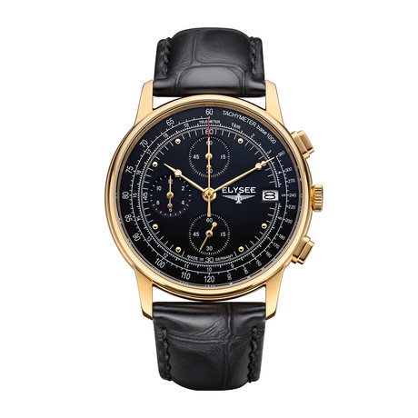 Elysee Heritage Chronograph Quartz // 11012