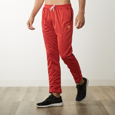 Multi-Purpose Active Track Pants // Red