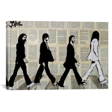 "The Crossing Of Abbey Road (18""W x 12""H x 0.75""D)"