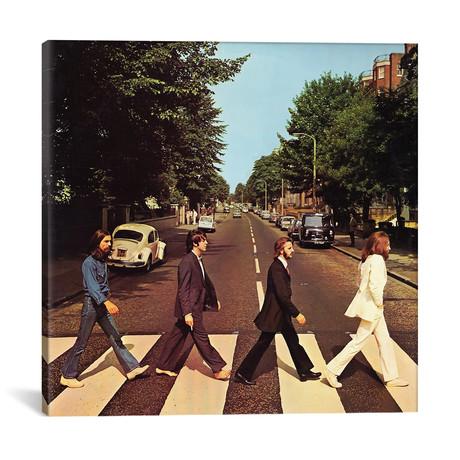 "Abbey Road // Radio Days (12""W x 12""H x 0.75""D)"