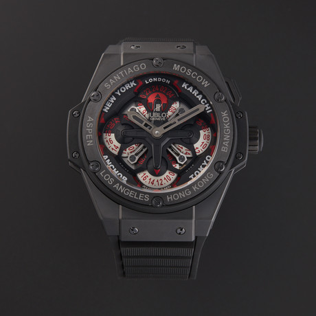 Hublot Big Bang King Power UNICO GMT Automatic // 771.CI.1170.RX // New