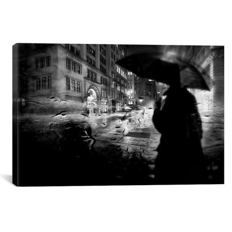 Night Walk In The Rain