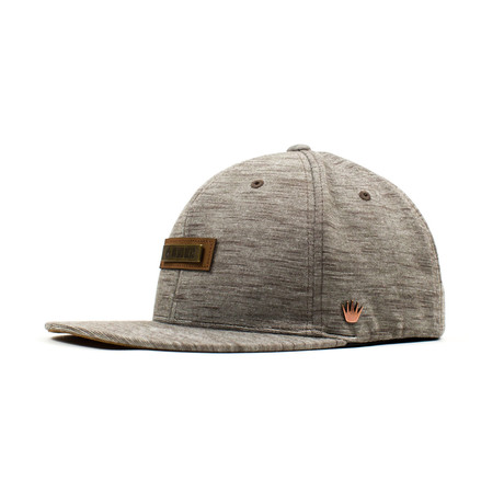 Lowry Flatbill Flexfit // Light Brown (S/M)