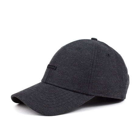 Booker Strapback // Charcoal