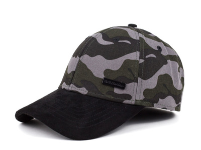 No Bad Ideas Sophisticated Caps & Beanies Taj Strapback // Camo + Black by Touch Of Modern - Denver Outlet