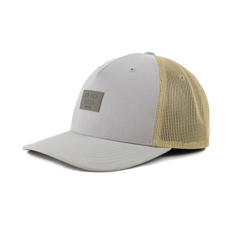 Freeman Trucker // Gray + Tan