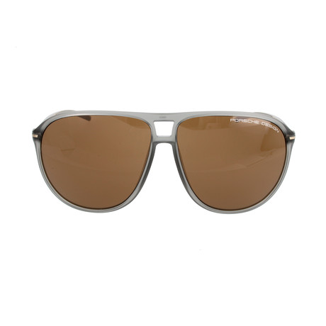 Bochum Sunglasses // Transparent Grey