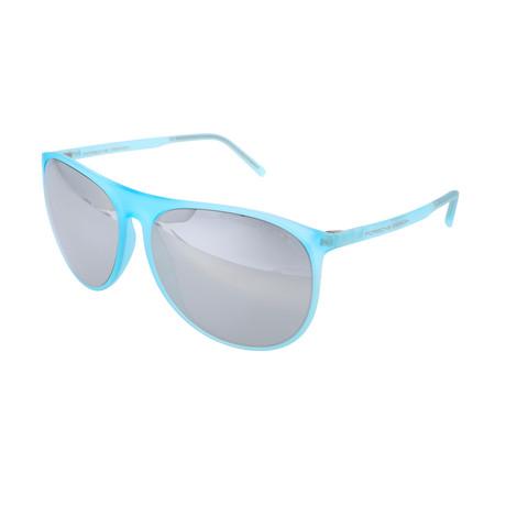Unisex P8596 Sunglasses // Light Blue
