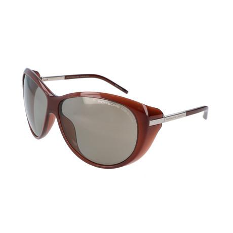 Women's P8602 Sunglasses V2 // Dark Chocolate