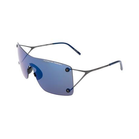 Men's P8620 Sunglasses // Gunmetal + Blue