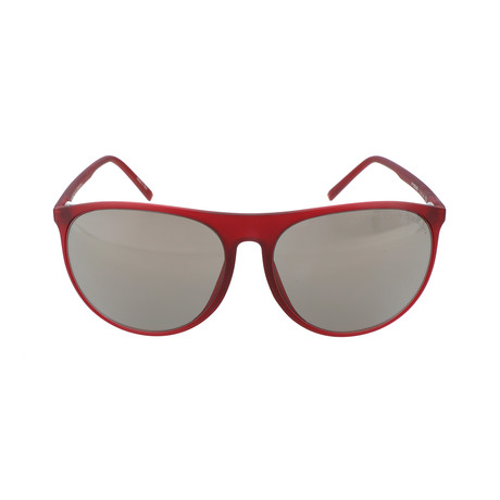Unisex P8596 Sunglasses // Red