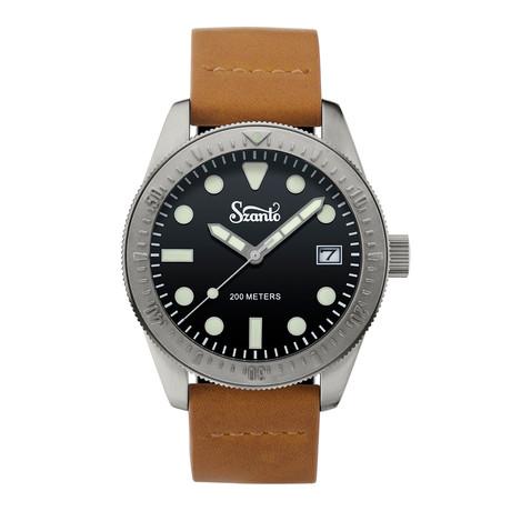 Szanto Vintage Dive Quartz // SZ 5203