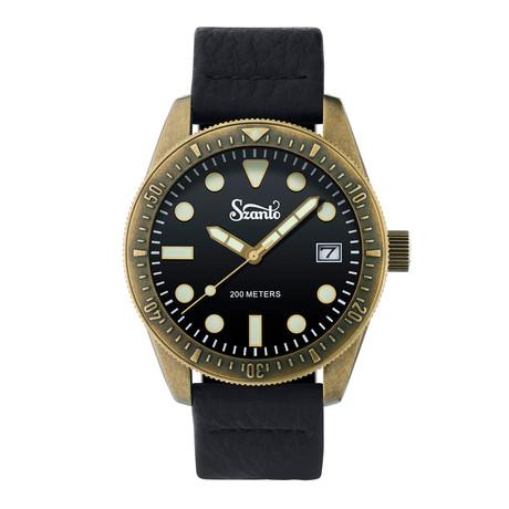 Szanto Vintage Dive Quartz // SZ 5204