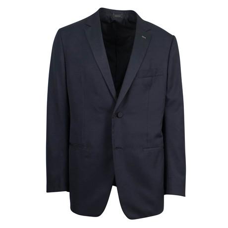 Ermenegildo Zegna // Wool Blend Tuxedo Suit // Black (Euro: 48)