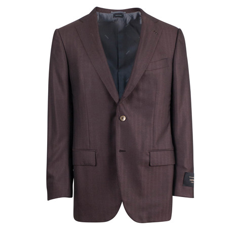 Ermenegildo Zegna Couture Cashmere 2-Button Sport Coat IV // Brown
