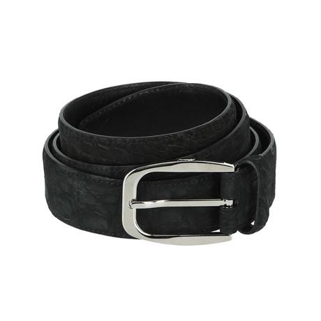 Formal Classic Belt // Black + Gray