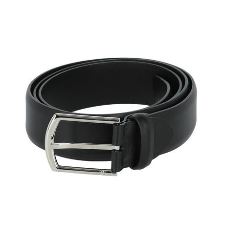 Classic Leather Belt // Black (Euro: 80)
