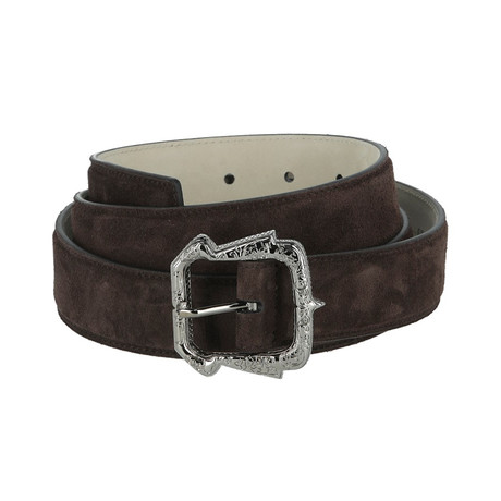 Leather Belt // Coffee (Euro: 80)