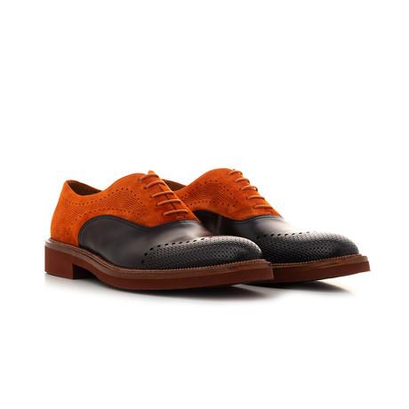 Oxford Suede // Orange + Black (Euro: 39)