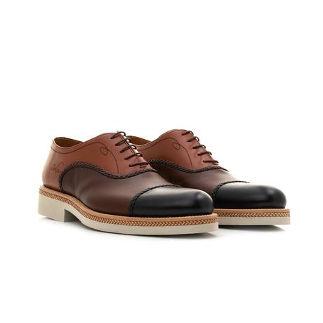 Oxford Calf Leather // Cognac + Brown + Black (Euro: 39)