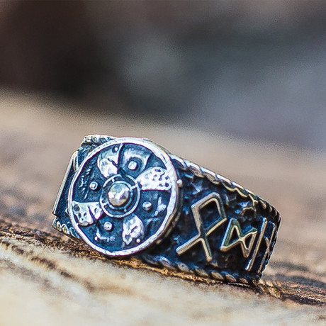 HAIL ODIN Collection Rings // Shield (6)