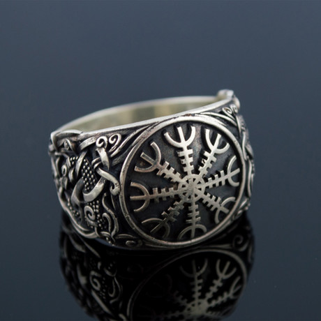 Viking Collection // Mammen Ornament + Helm of Awe Ring (5)
