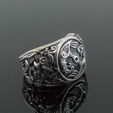 Viking Collection // Mammen Ornament + Ravens Ring (5)