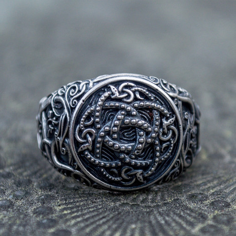 Viking Collection // Urnes Ornament + Ouroboros Ring (5)