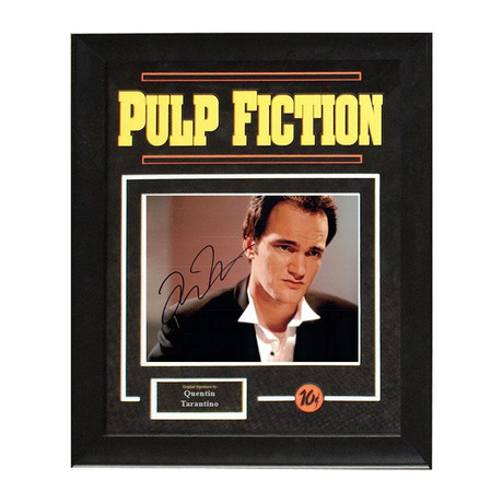 Framed Autographed Artist Series // Pulp Fiction