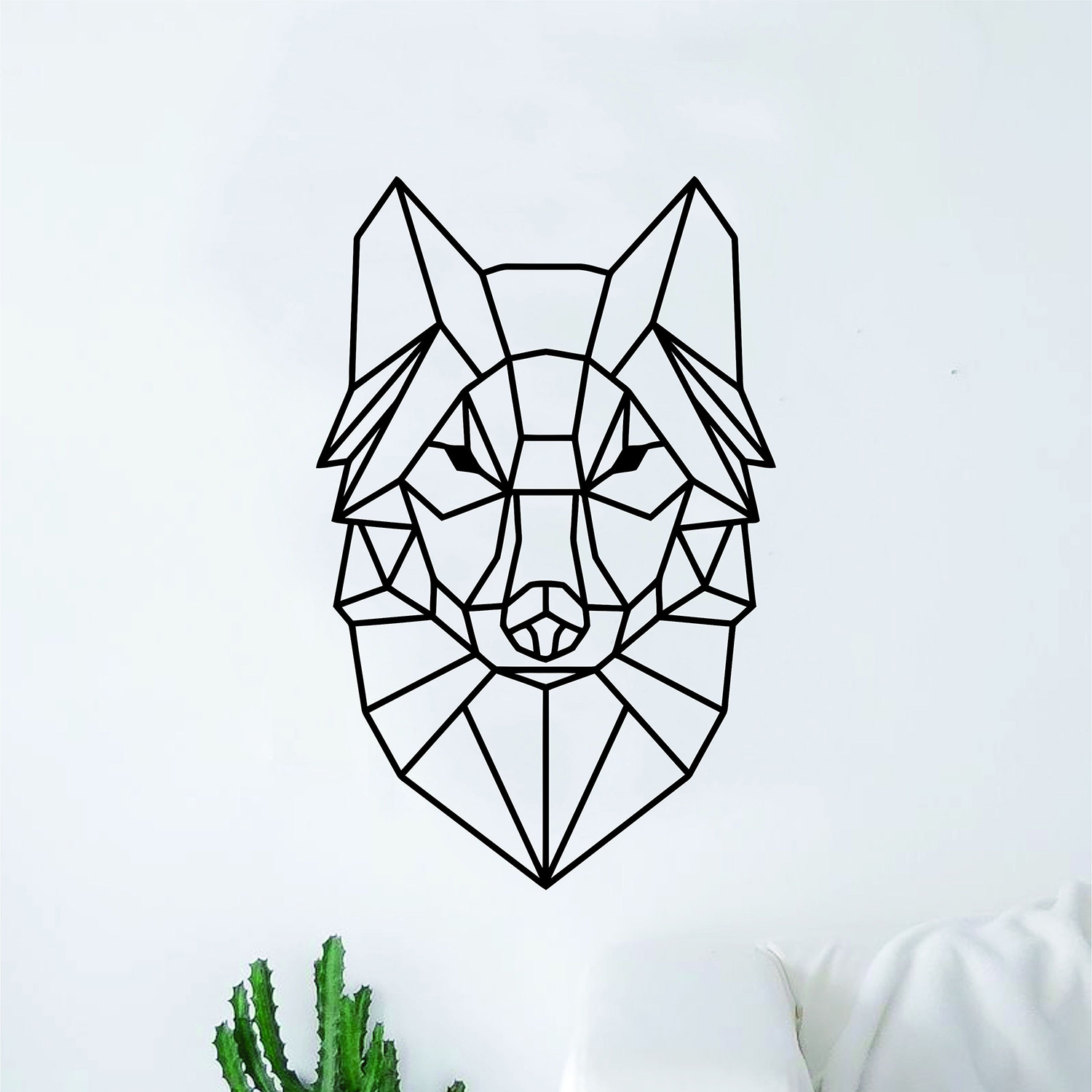 Geometric Wolf - Epic Graphix - Touch of Modern