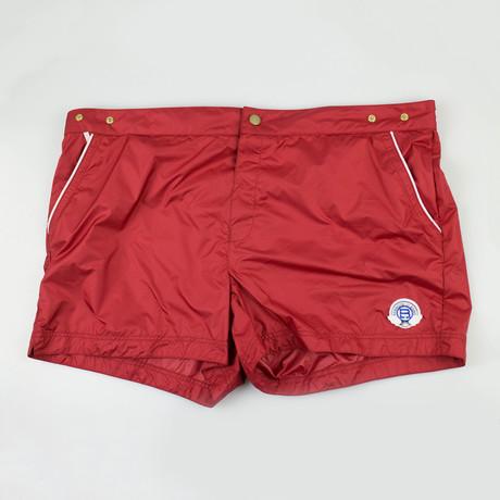 Robinson Les Bains // Swim Trunks // Red