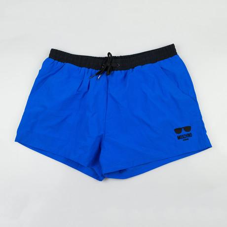 Moschino // Swim Trunks // Blue