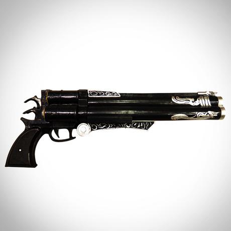 Final Fantasy // Vincent's Handmade Gun + Wood Stand