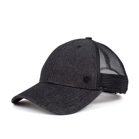 Lonzo Trucker // Charcoal + Black