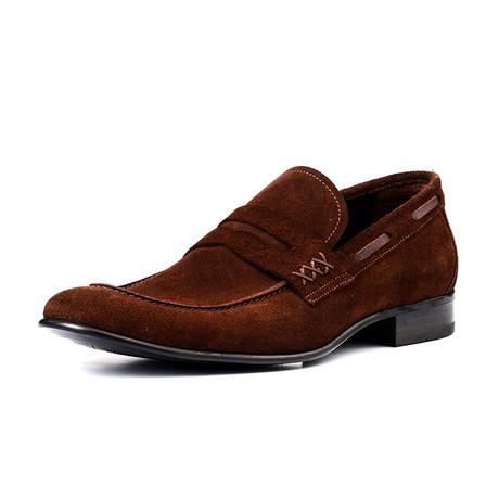 Finn Nubuck Shoes // Brown
