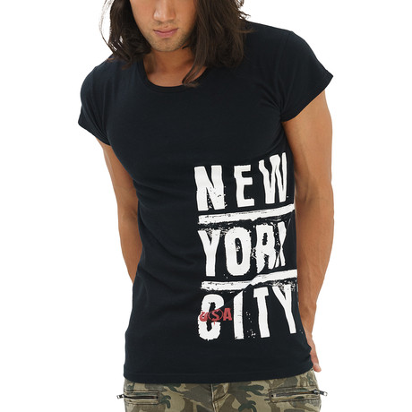New York City T-Shirt // Black (Small)