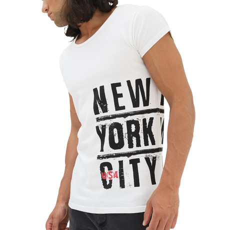 New York City T-Shirt // White (S)
