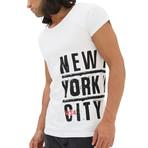 New York City T-Shirt // White (L)