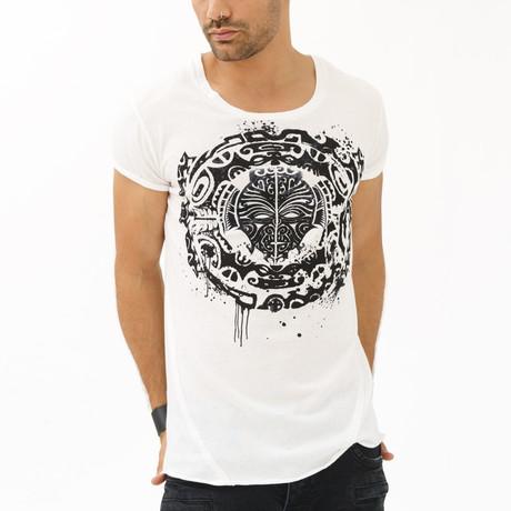 Life of Maori T-Shirt // White