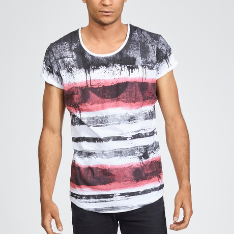 Red Zebra T-Shirt // Red (S)