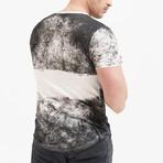 Maori Tattooed Man T-Shirt // Off White (S)