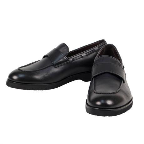 Ermenegildo Zegna // Leather Loafers // Black (US: 8)