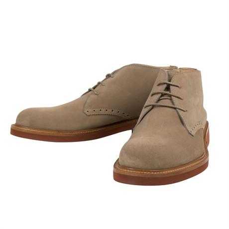 Ermenegildo Zegna // Suede Chukka Boots // Tan (US: 10)