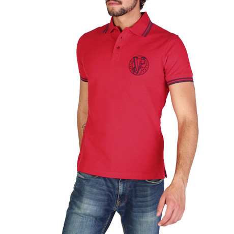 136 Polo Shirt // Red
