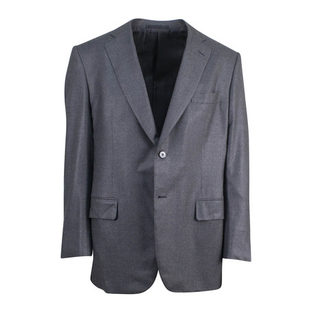 Wool Blend 2-Button Classic Fit Sport Coat // Gray